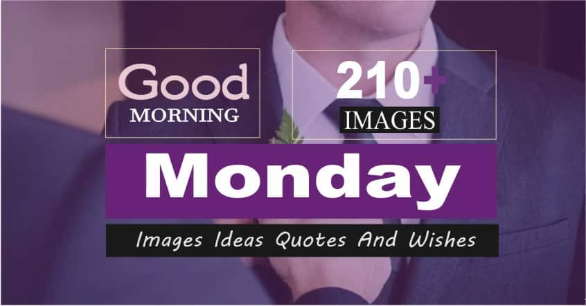 210+ [ Good Morning Happy Monday Images ] Ideas Wishes - 2021 Amazing Collection