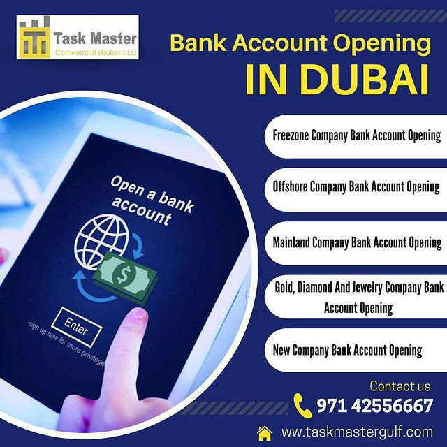 How To Open Offshore Company Bank Account In UAE | by taskmastergulf | Jun, 2021 | Medium