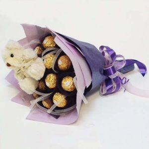 Buy/Send Chocolate Bouquet Online - Best Price of Chocolate Bouquets