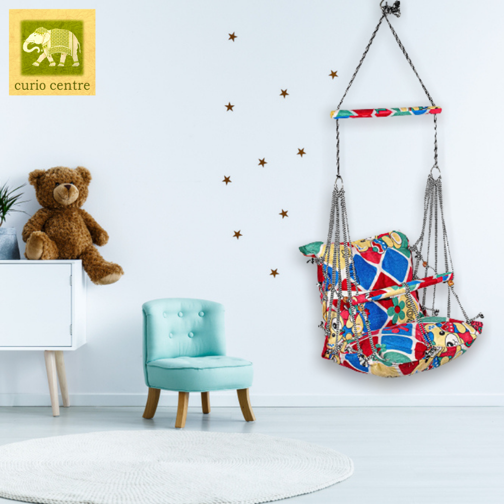 Printed Baby Swing Red - Curio Centre