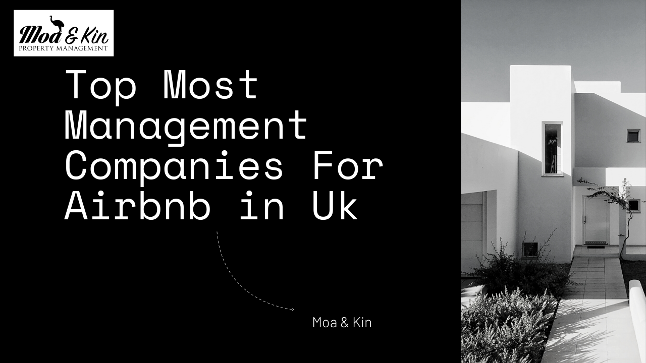 Top Most Management Companies For Airbnb in Uk