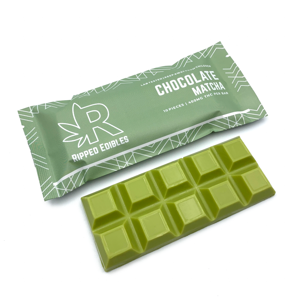 Ripped Edibles Chocolate Matcha - 400mg - Buy Online Weeds | Dispensary Near Me Now