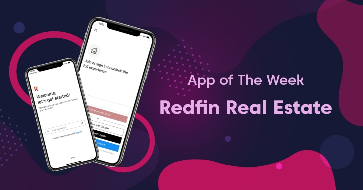 Redfin App to Buy & Sell Homes Conveniently   App of the Week