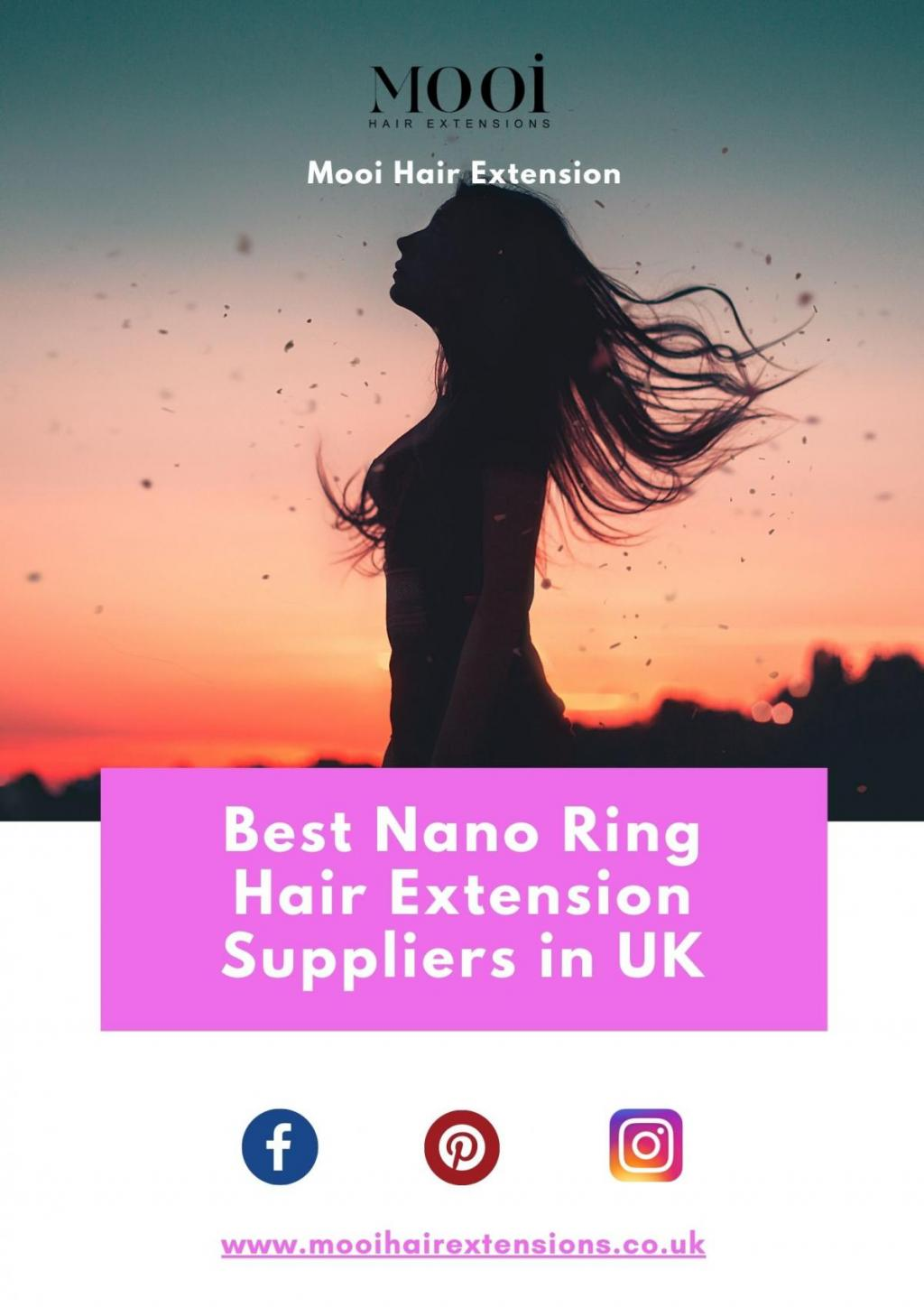 Best Nano Ring Hair Extension Suppliers in UK