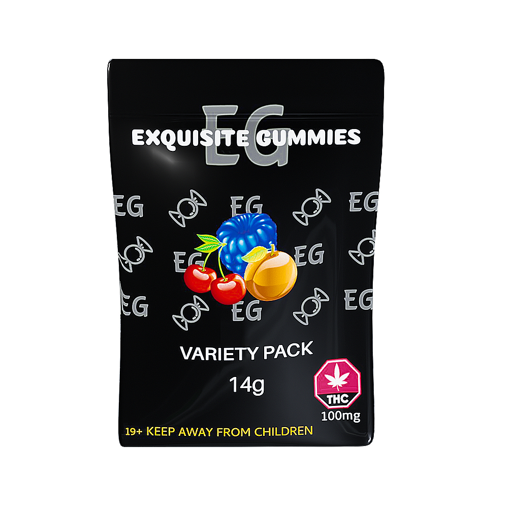 Shop Exquisite Gummies – Variety Pack - WTF Cannabis #1 Dispensary