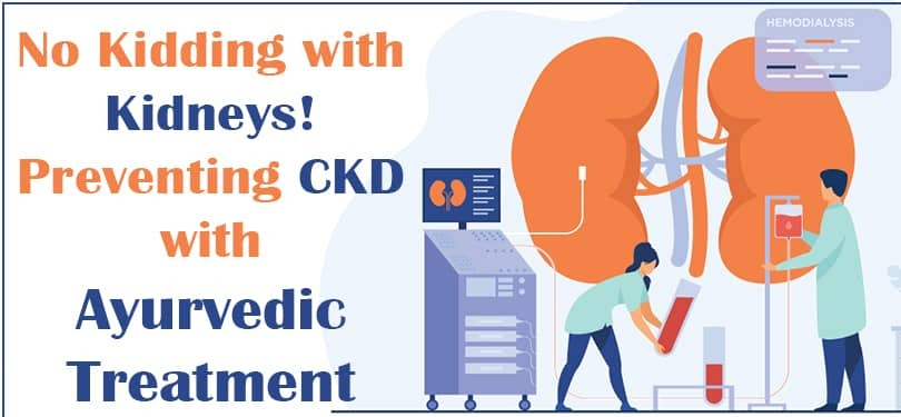 No kidding with kidneys!- Preventing CKD with Ayurvedic treatment