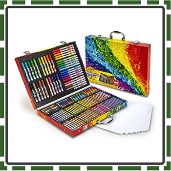 12 Best Art Supplies for Kids boys and girls learning with..